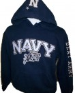 Hooded+Sweater+US+Navy+