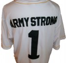 Baseball+skjorta+#1+Army+Strong+Victory+Bgd:+XL