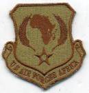 USAF US Air Forces Africa Tygmärke Desert