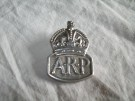 Märke Air Raid Silver WW2 original