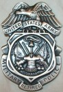 Military Police US Army MP badge Original
