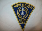 New Haven Connecticut Police Tygmärke