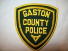 North Carolina Gaston County Police Tygmärke