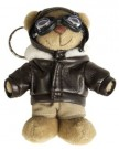 Nyckelring Teddy USAF RAF Air Force WW2