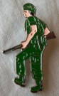 Pin G.I. Soldier Vietnam War