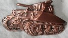 Pin Sherman Tank WW2