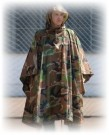Poncho Woodland US Army
