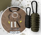 Paracord Survival Kit Oliv Small