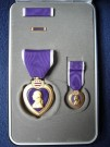 Purple Heart Medaljset x4