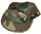 Fältmössa Field Cap Patrol Hat Woodland Major: 7 1/4