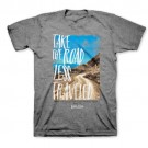 T-Shirt Road Less Traveled Kerusso: L