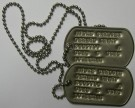 DOG TAGS USMC Original Vietnam Era
