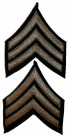 Rank Sergeant Khaki US Army WW2 original