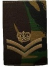 Rank slide Cavalry Corporal DPM Woodland