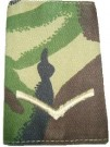 Rank slide Lance Corporal DPM Woodland
