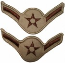 Rank USAF Airman desert