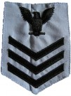 Rank US Navy Ljusblå