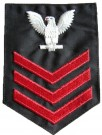 Rank US Navy Svart