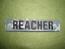 Reacher ACU Namn strip MP Lee Child