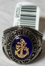 Ring USN US Navy Rhodium