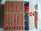 Roberto Bolano- 2666 box First Am. edition