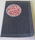 Bibeln- Holy Bible 1970 Denim Jeans Vintage