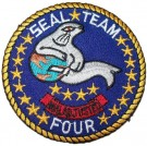 Seal Team 4 Tygmärke