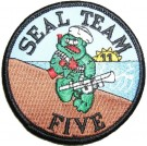 Seal Team 5 Tygmärke