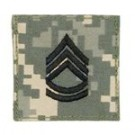 Sergeant First Class ACU Digital med kardborre