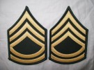 Sergeant First Class ärm rank US Army