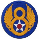 Tygmärke 8th USAAF US Army Air Force WW2