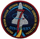 Spaceshuttle 7 Discovery NASA patch