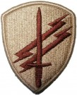 Special Operations Command Psych. Ops. patch desert