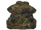 Splitterschutzweste Flecktarn BW: Battle Worn