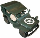 Statyett Modell US Willy´s Jeep WW2