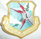 Strategic Air Command USAF Tygmärke färg