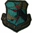 Strategic Air Command USAF Tygmärke subdued