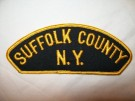 Suffolk County New York Police Tygmärke