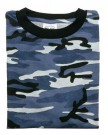 T-Shirt Blue Camo US Navy