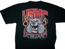 T-Shirt Devil Dogs USMC: M