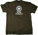T-Shirt US Army Oliv WW2 typ