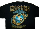 T-Shirt USMC First to Fight: L