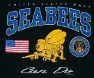 "T-Shirt US Navy Seabees ""Can Do"": XL"