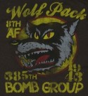T-Shirt Wolf Pack Bomb Group US Army: XXXL
