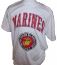 T-Shirt+USMC+US+Marines+Logo:+XL