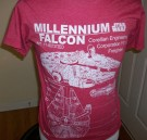 Star+Wars+T-Shirt+Millennium+Falcon+Blueprint:+S