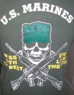 T-Shirt+Mess+with+the+best...USMC:+M