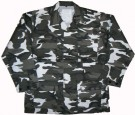 Urban Camo BDU Fältskjorta Heavyweight