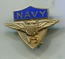 US Navy Pilot V-5 Pin WW2 Original