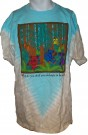 Grateful Dead Wildlife Batik T-Shirt: L
